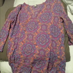 Woman's J Crew Cover Up